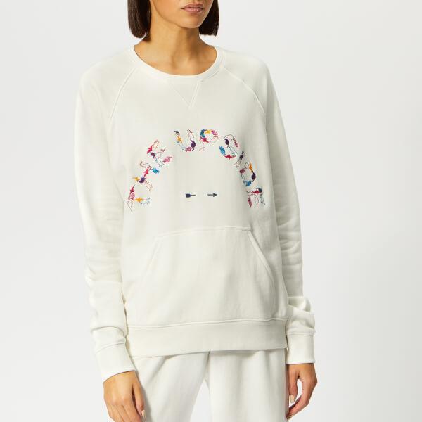 The Upside Women's The Good Dinosaur Bondi Crew Sweatshirt - White