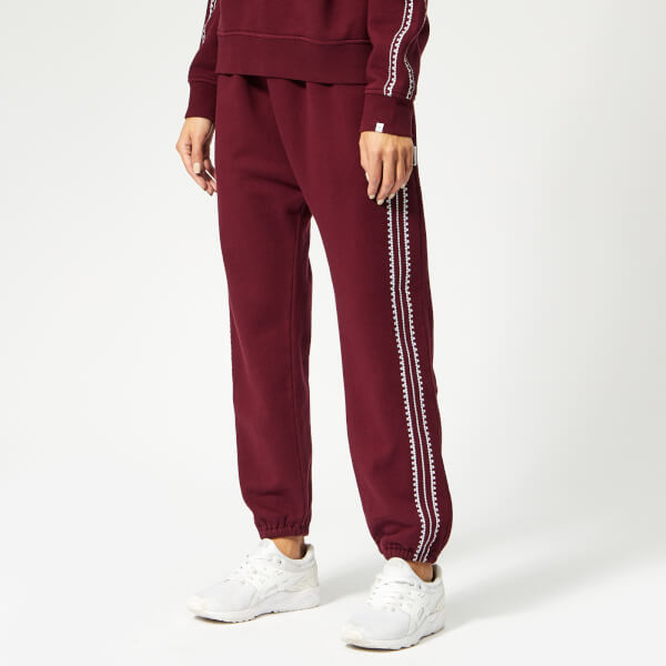 The Upside Women's Pheonix Byron Track Pants - Maroon