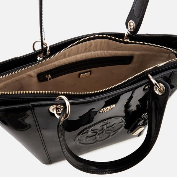 c0217497b4 Guess Women s Kamryn Tote Bag - Black Womens Accessories