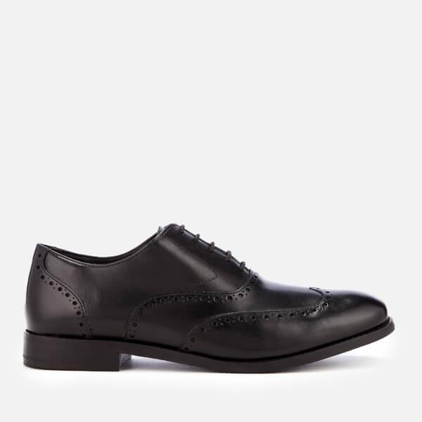 Clarks Men's Edward Walk Leather Oxford Shoes - Black