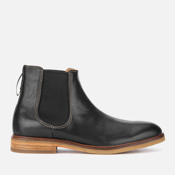 Clarks Men's Clarkdale Gobi Leather Chelsea Boots - Black