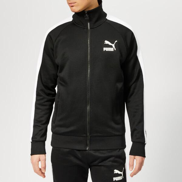Puma Men's Iconic T7 Track Jacket - Puma Black