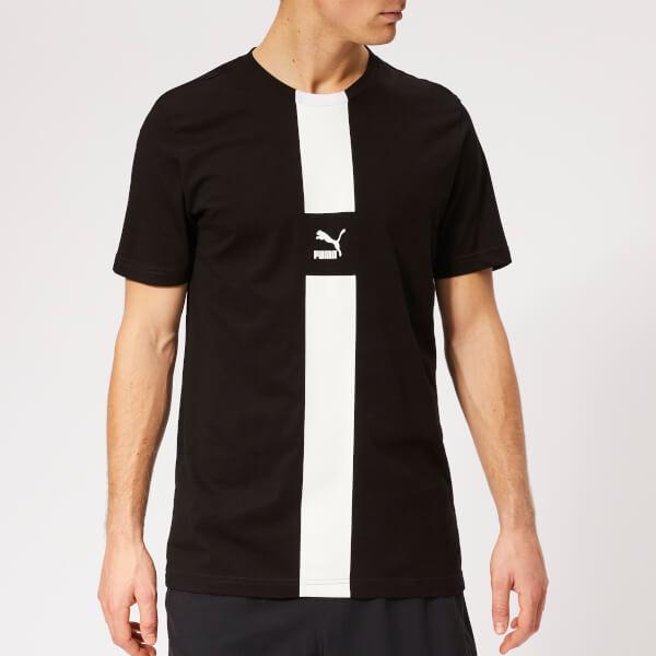 Puma Men's XTG Short Sleeve T-Shirt - Cotton Black