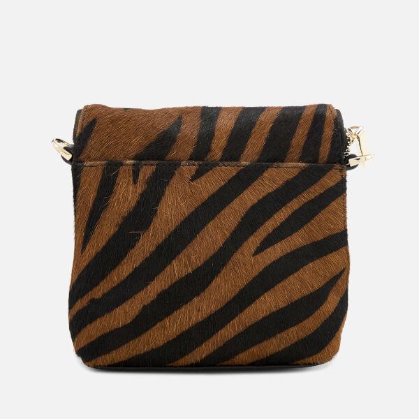 9bb393494946 Whistles Women s Victoria Mini Cross Body Bag - Zebra Print Womens ...