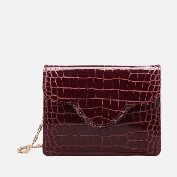 Aspinal of London Women's Ava Bag - Bordeaux