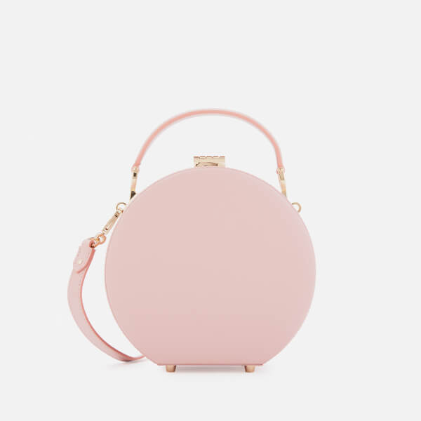 Aspinal of London Women's Hat Box - Mini (Slim Strap) - Peony