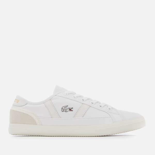 Lacoste Women's Sideline 119 1 Canvas Vulcanised Trainers - White/Off White