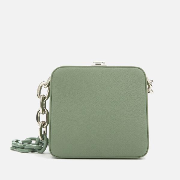 The Volon Women's Cube Chain Bag - Military