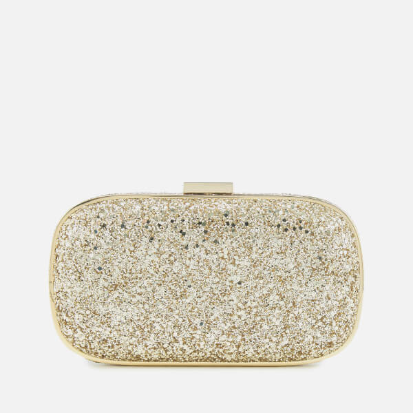 Anya Hindmarch Women's Marano Glitter Clutch Bag - Gold