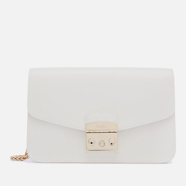 Furla Women's Metropolis Small Shoulder Bag - White