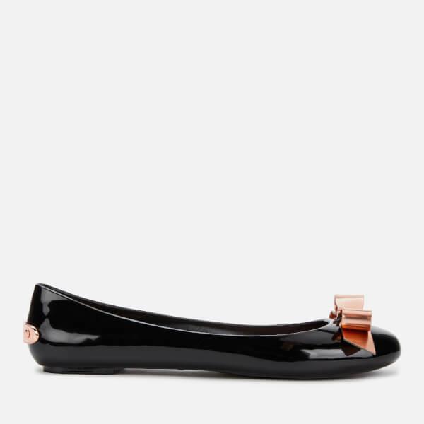 Ted Baker Women's Dahlia PVC Ballet Flats - Black
