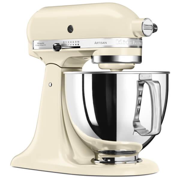 KitchenAid 5KSM175PSBAC Artisan 4.8L Stand Mixer - Almond Cream