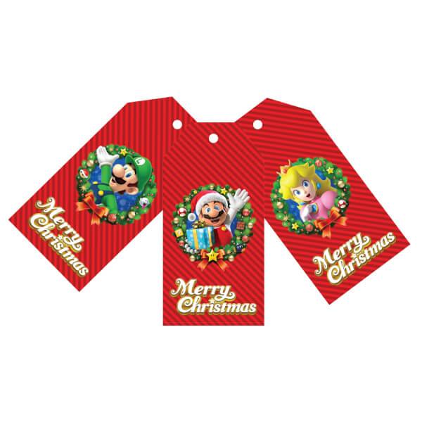 Nintendo Christmas Gift Tags (Set of 6)