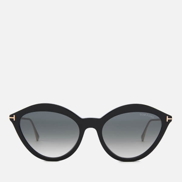 Tom Ford Women's Chloe Sunglasses - Black/Smoke
