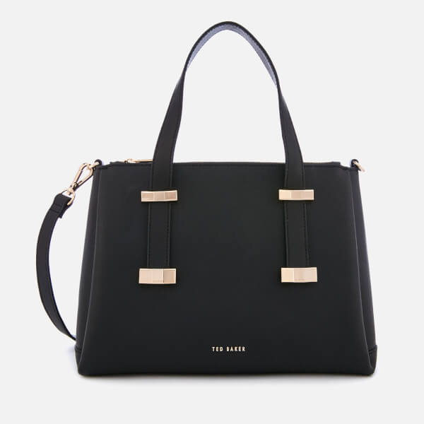 Ted Baker Women's Julieet Bow Adjustable Handle Small Tote Bag - Black