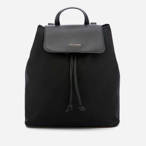 Ted Baker Women's Jiejie Nylon Drawstring Backpack - Black