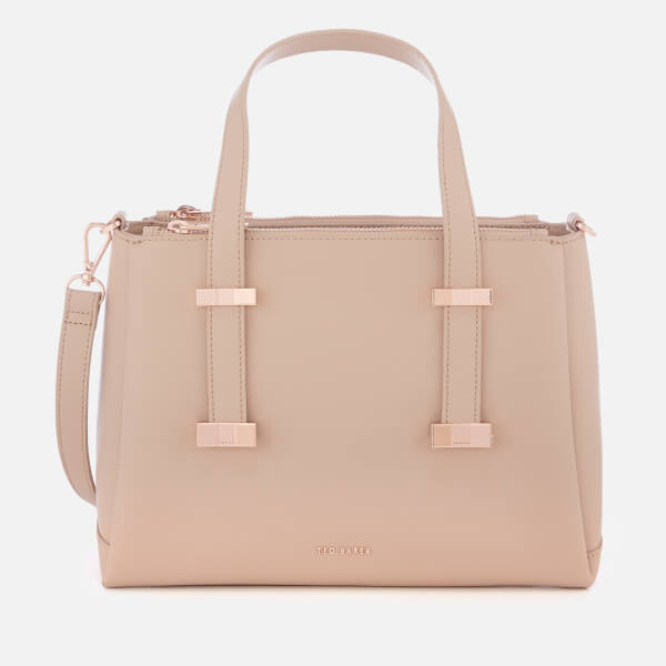 Ted Baker Women's Julieet Bow Adjustable Handle Small Tote Bag - Taupe