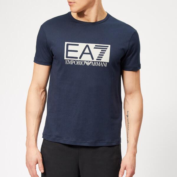 Emporio Armani EA7 Men's Train Visibility Short Sleeve T-Shirt - Blue
