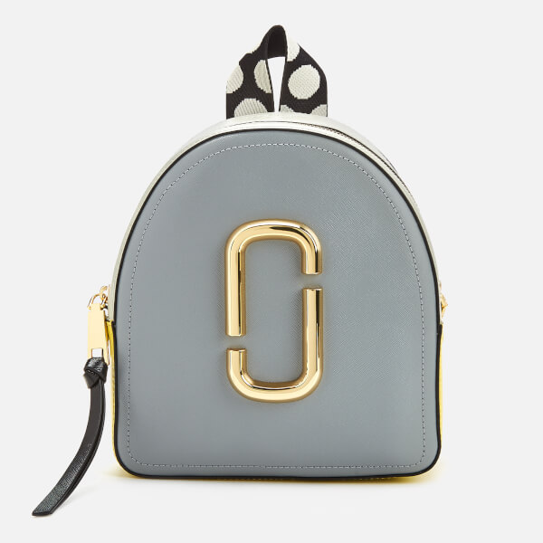 Marc Jacobs Women's Pack Shot Backpack - Rock Grey Multi