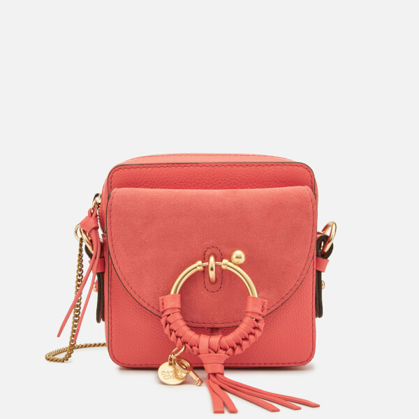 See By Chloé Women's Joan Small Cross Body Bag - Wooden Pink