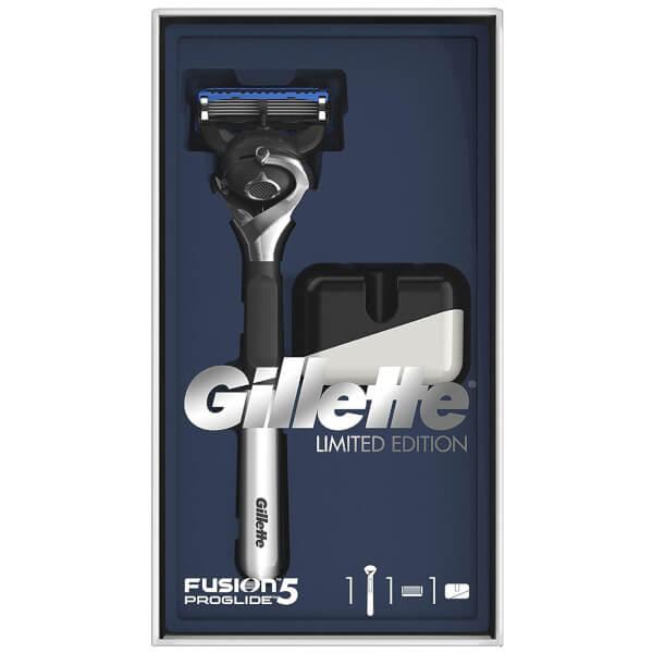 Gillette Fusion5 ProGlide Razor Gift Pack and Razor Stand
