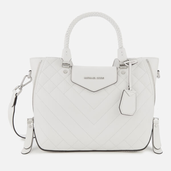 a6be161703cd MICHAEL MICHAEL KORS Women's Blakely Medium Messenger Bag - Optic White:  Image 1