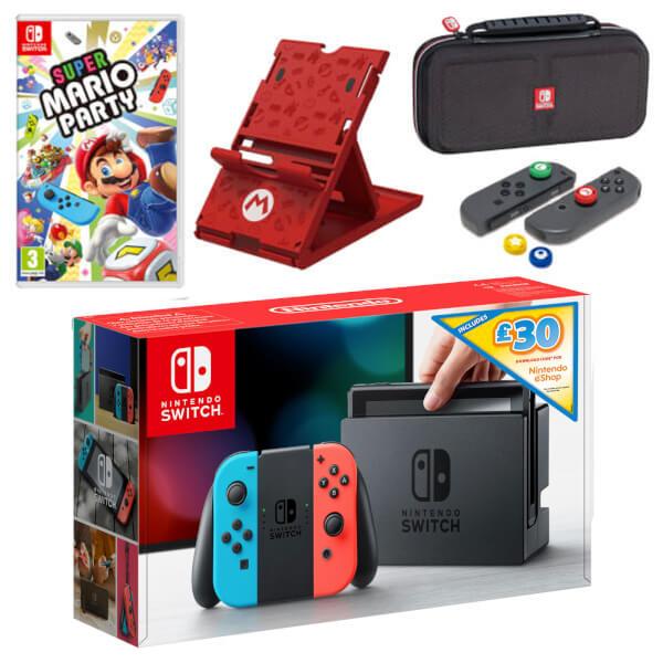 Nintendo Switch Super Mario Party Pack + £30 eShop Credit
