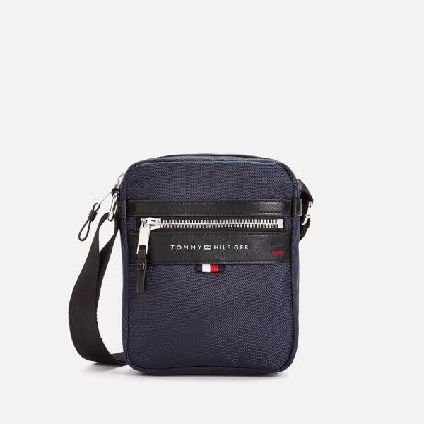 Tommy Hilfiger Men's Elevated Mini Reporter Bag - Tommy Navy