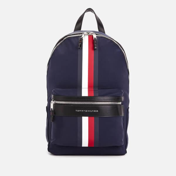 Tommy Hilfiger Men's Elevated Backpack Stripe - Tommy Navy