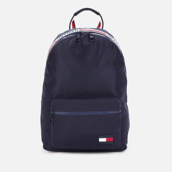 Tommy Hilfiger Men's Sports Tape Backpack - Tommy Navy