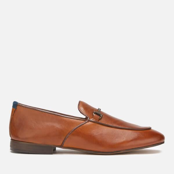 Hudson London Men's Carmarthen Leather Loafers - Tan