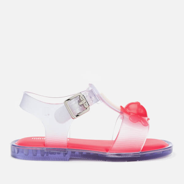 Mini Melissa Toddlers' Mini Mar Lollypop Sandals - Clear Contrast