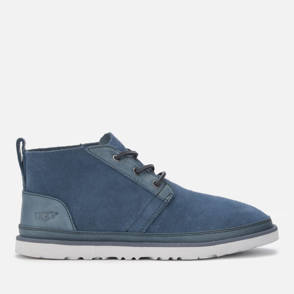 UGG Men's Neumel Unlined Leather Chukka Boots - Pacific Blue