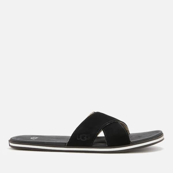 UGG Men's Beach Slide Sandals - Black