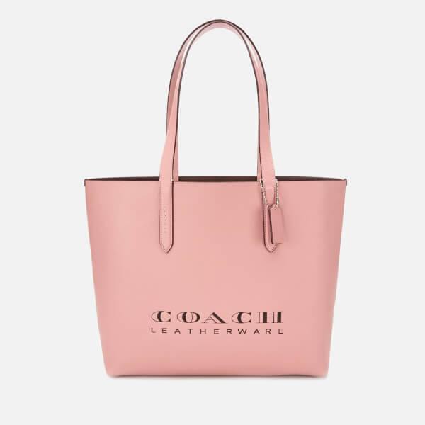 Coach Women's Crossgrain Leather 195 Tote Bag - Light Blush
