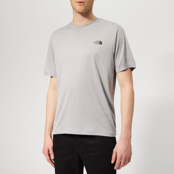 The North Face Men's Reaxion AMP Crew Neck Short Sleeve T-Shirt - TNF Light Grey Heather
