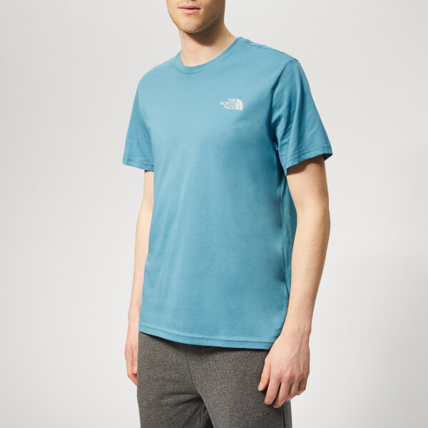 The North Face Men's Simple Dome Short Sleeve T-Shirt - Storm Blue