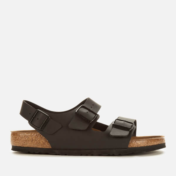 Birkenstock Men's Milano Double Strap Sandals - Black