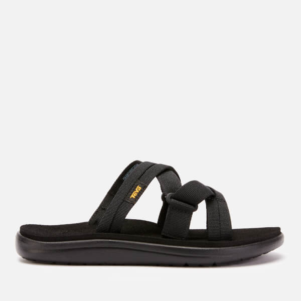 Teva Women's Voya Slide Sandals - Black