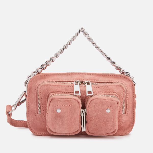Núnoo Women's Helena Suede Chunky Chain Bag - Rose