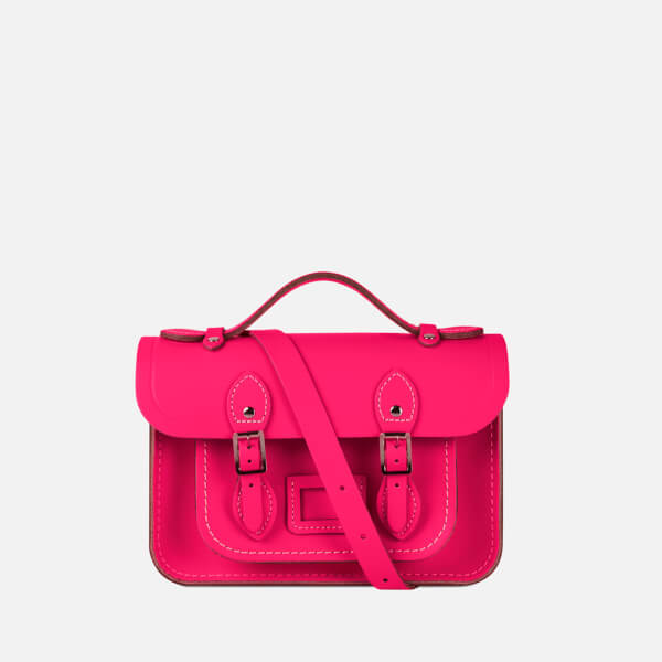 The Cambridge Satchel Company Women's Mini Satchel - Fluoro Pink