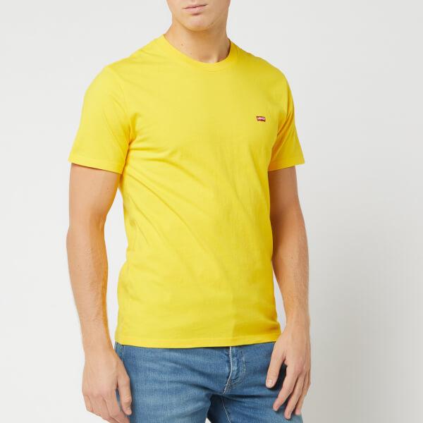 levi's men's original hm t-shirt - brilliant yellow - l - yellow
