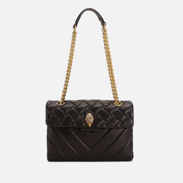 Kurt Geiger Women's Leather Kensington Bag - Black