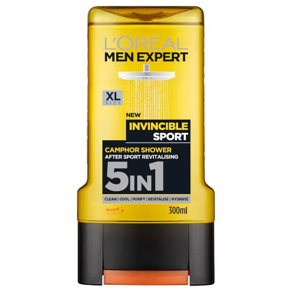 L'Oréal Men Expert Invincible Sport 5-in-1 Shower Gel 300ml