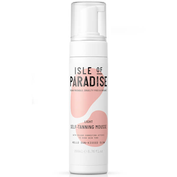 Isle Of Paradise Self-tanning Mousse - Light 200ml