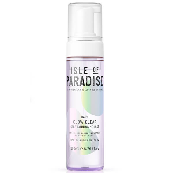 Isle Of Paradise Glow Clear Self-tanning Mousse - Dark 200ml