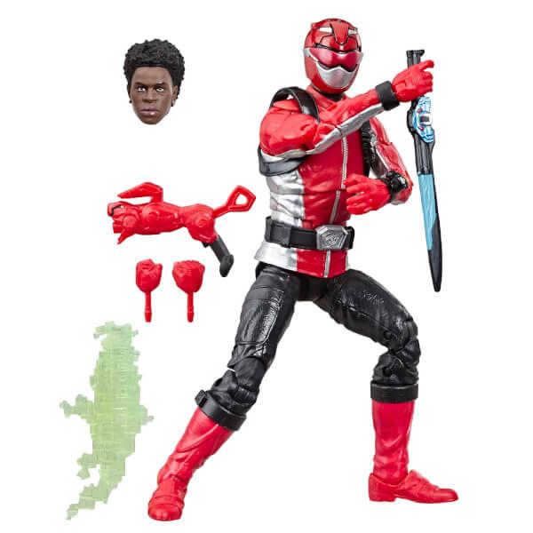Hasbro Power Rangers Lightning Collection Beast Morphers Red Ranger Figure