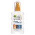 Garnier Ambre Solaire Clear Protect Sun Cream Spray SPF 50 200ml: Image 1