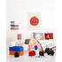 Brique de rangement LEGO® rouge 2 tenons: Image 2