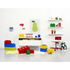 LEGO Storage Brick 8 - Red: Image 3